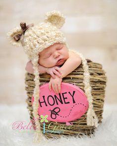 Snuggle Bear Hat -LoveByCC