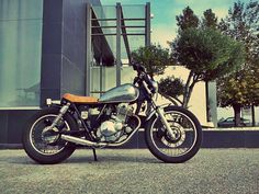 #Suzuki #GN250 #Brat #custom #motorcycle https://www.facebook.com/DinostyleGarage