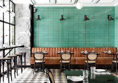 inspiring dining room at les trois cochons. / sfgirlbybay