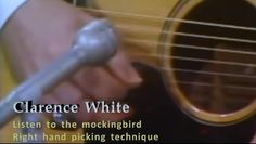Clarence White was an American bluegrass and country guitarist and singer. He is best known as a member of the bluegrass ensemble the Kentucky Colonels and the rock band the Byrds, as well as for being a pioneer of the musical genre of country rock during the late 1960s. His brilliant, Doc Watson-inspired acoustic flatpicking, which incorporated lightning-fast fiddle lines played on a vintage Martin D-28 (D-18), helped the blueg