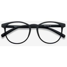 Men's Chilling - Black round plastic - 12945 Black Rx Eyeglasses (280 MXN) ❤ liked on Polyvore featuring men's fashion, men's accessories, men's eyewear, men's eyeglasses, mens round eyeglasses, mens eyewear and mens eyeglasses