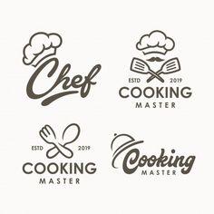 Set of vintage restaurant banners Vector Food Logo Design, Bakery Logo Design, Logo Food, Branding Design, Design Design, Design Trends, Logo Restaurant, Restaurant Design, Vintage Restaurant