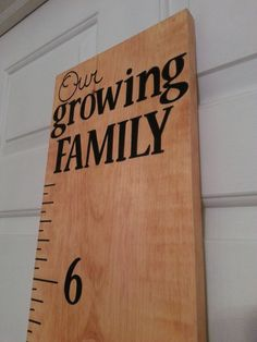 Hand painted Childrens Growth Charts Our by TheKingsCollections, $50.00