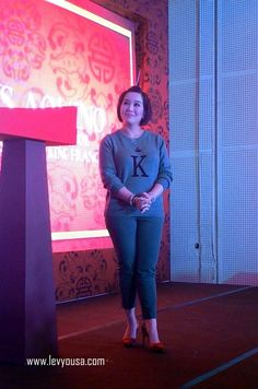 Chowking welcomes Kris Aquino as their newest franchisee Fashion Pants, Welcome, My Idol, Capri Pants, News, Celebrities, Awards, Target, Drama
