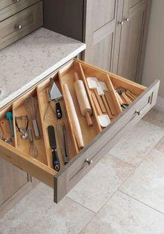 Clever & clean kitchen storage organization ideas (20)