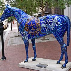 Louisville Horse by Atelier Teee (On Vacation), via Flickr