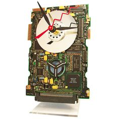 The Mercedes of Circuit Board Clocks  By TECO ART