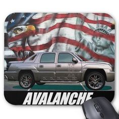 2002 Avalanche Mouse Pad