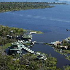 Ariau Amazon Towers Hotel, one of the largest commercial treehouse hotels in the world