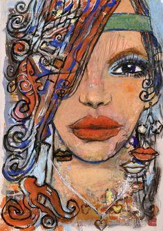 Prospect, December 6, 2011 Original Paintings, Original Art, Single Sheets, Artwork Online, Saatchi Art, December, Portrait, Headshot Photography, Portrait Paintings