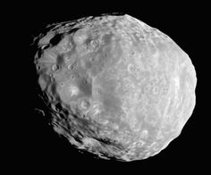 Janus, a moon of Saturn.