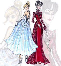 Disney Divas 'Princess vous Villainess' by Hayden Williams: Cinderella & Lady Tremaine