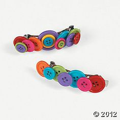 Barrettes made with/for your favorite little girl.