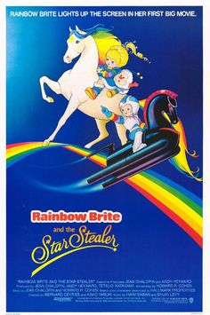 """Ok, hear me out before you dismiss Rainbow Brite all together.  I pinned it for one reason: """"The Beginning of Rainbowland.""""  The 2-part episode was a dark epic and completely unlike the rest of the show.  Click to check it out."""