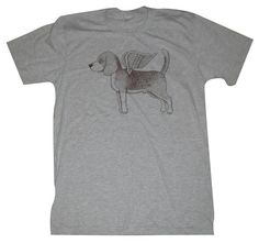 Hey, I found this really awesome Etsy listing at https://www.etsy.com/listing/62547947/flying-beagle-mens-t-shirt-s-m-l-xl-in-9