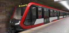 Schnittiger und moderner: Diese Züge sollen bald das Nürnberger U-Bahn-Netz aufwerten.
