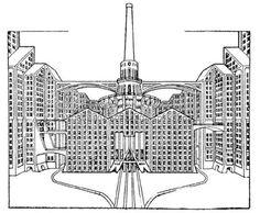 Virgilio Marchi - Architettura futurista
