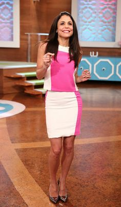 Bethenny's Look of the Day - Top and Skirt: Topshop  Heels: BCBG  Bracelet: Suzy B  Ring: Suzy B  Rings: Freida Rothman  Earrings: Michael Kors