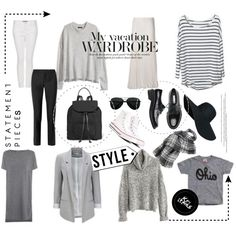 Capsule Wardrobe by sharoncrotty on Polyvore featuring Joseph, Converse, Elizabeth and James and Wilsons Leather