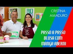 Camiseta manga curta em tricô com Camila+ com Cristina Amaduro - YouTube