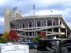 Indiana University Hoosiers - football Memorial Stadium - outside