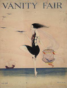 Rita Senger - .Woman Dancing on the Shore, 1916, Library of Congress, Washington, D.C.