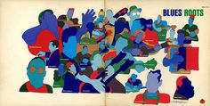 Album Cover by Milton Glaser (1978) by P-E Fronning, via Flickr