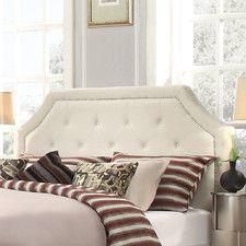Somerby Upholstered Headboard in Cream White