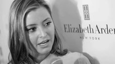 Interview with Holly Valance at the Launch Party for the new Elizabeth Arden 8 Hour Fragrance free Cream