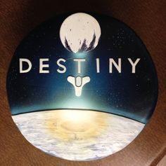 Destiny video game birthday cake