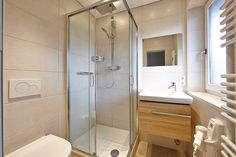 Modern bathrooms renovated in 2014. All the comfort and style.