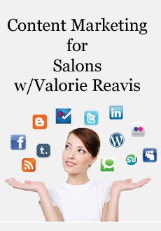 We talk with Valorie Reavis of the ShoutLounge.com about content marketing for salons