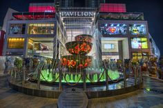 Pavilion Crystal Fountain in Bukit Bintang Kuala Lumpur Malaysia - HDR by David Gn Photography, via Flickr