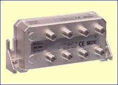 Met het AFC1861 zesvoudig aftakelement kunt u een bestaande coaxkabel onderbreken en zes aftakkingen maken naar zes nieuwe antenne aansluitdozen, bijvoorbeeld in al uw kamers in huis. De verzwakking van de doorgaande kabel is minimaal, slechts 6,0 dB. De verzwakking naar de aftakpunten bedraagt 12,5 dB tot 17,5 dB.  http://www.vego.nl/hirschmann/afc1861/afc1861.htm