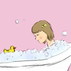 Rubber Duck Illustration $9