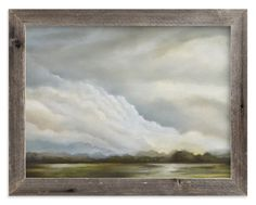 """Water Meadow"" - Art Print by Kelly Money in beautiful frame options and a variety of sizes."