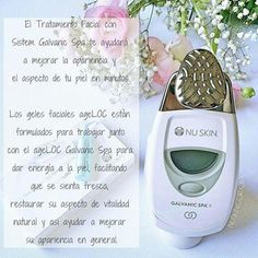 Maquina facial 10% de descuento 💞 Nu Skin, Galvanic Spa, Home Spa, Tips Belleza, Cosmetology, Beauty Skin, Massage, Beauty Hacks, Skin Care