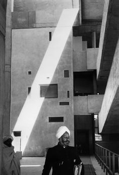 Marc Riboud took this photograph of the High Court Building of Chandigarh, India in Can you guess the architect who designed this landmark? Marc Riboud, William Eggleston, Martin Parr, Astronomical Observatory, Archi Design, Pierre Jeanneret, French Photographers, Magnum Photos, Le Corbusier