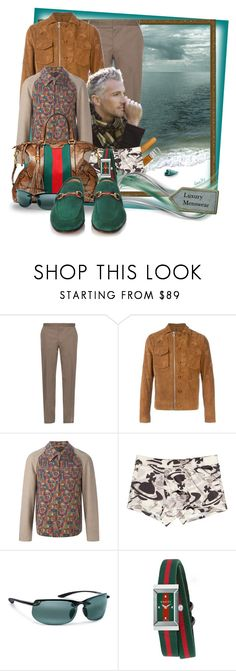 """""""Luxury Menswear#1"""" by ilona2010 ❤ liked on Polyvore featuring Lanvin, Carven, Comme des Garçons, Vivienne Westwood, Gucci, Frontgate, men's fashion and menswear"""