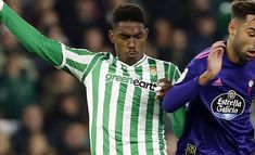 Barcelona to make multi-player swap offer for Real Betis defender Junior Firpo Us First Lady, Chelsea Fans, Manchester United Players, Latest Football News, Nigeria News, National Hockey League, Bad News, Michelle Obama, Stars