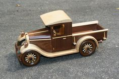 1928 Chevrolet pick up by gbtrains on Etsy, $175.00
