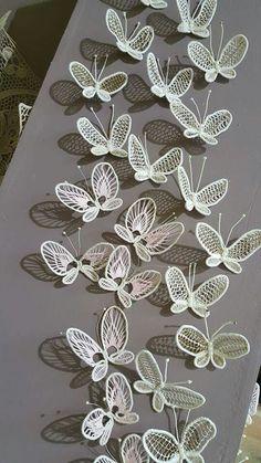 Butterflies crochet/sew