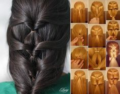 diy-layered-twist-around-hairstyle Amazing Hairstyle in Less than 5 Minutes