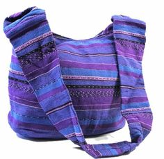Ancient Goddess Half Moon Bag - Blue or Purple - blue moon pagan wiccan witchcraft magick ritual supplies