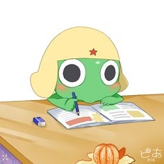 Keroro Gunsou_bored.. by pianno-ribbon.deviantart.com on @deviantART