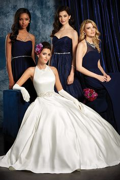 Capture The Beauty Of Your Bridesmaids In These Stunning Shire By Alfred Angelo Dresses Starting