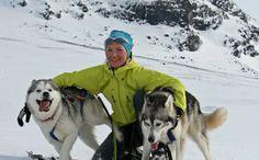 Lisa Lindblom . racing siberian huskies