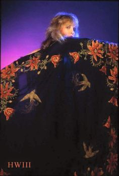 """Stevie Nicks """"Another Herbie gem. Check out that lovely shawl.  """""""