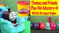 Thomas and Friends Play-Doh Edition! World's Strongest Mystery Engine