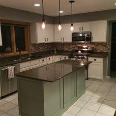 Big Kitchen Trends In 2016 - Interior Decor and Designing Big Kitchen, Kitchen On A Budget, Kitchen Layout, Country Kitchen, Kitchen Decor, Kitchen Design, Kitchen Tips, Kitchen Storage, Kitchen Flooring